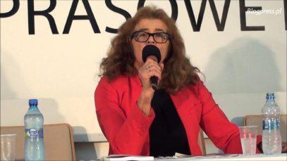 """Ewa Kurek w klubie Ronina """"""""Polacy i Żydzi: problemy z historią"""" – 10.11.2015"""