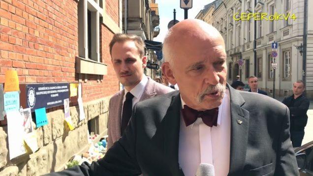 Janusz Korwin-Mikke i Konrad Berkowicz o Alfie Evans