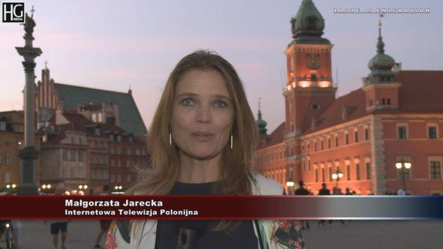 Małgorzata Jarecka – zaproszenie do Internetowej Telewizji Polonijnej  iTVP.tv