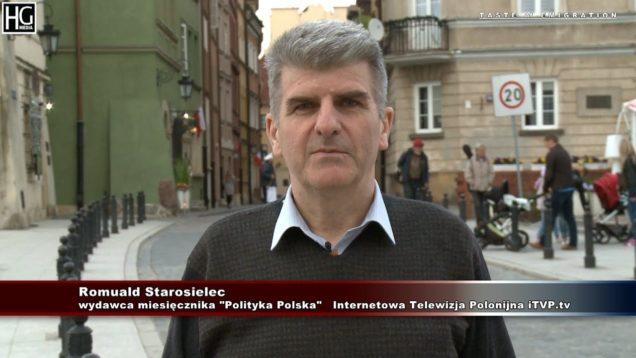 Romuald Starosielec – zaproszenie do  Internetowej Telewizji Polonijnej   iTVP.tv