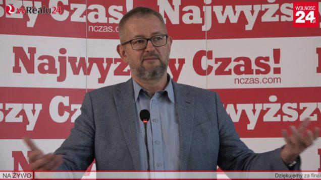 Tylko u nas! Ziemkiewicz na żywo o wolności gospodarczej i przyszłości polskiej prawicy! Pytania!