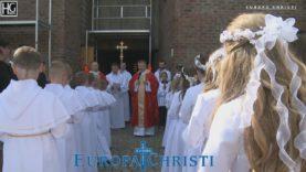 Pierwsza Komunia Święta. St.Halvard 20.05.2018, Oslo