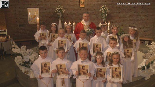 Pierwsza Komunia Święta. St. Halvard 20.05.2018