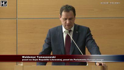 Waldemar Tomaszewski: Rządzący o nas zapomnieli!