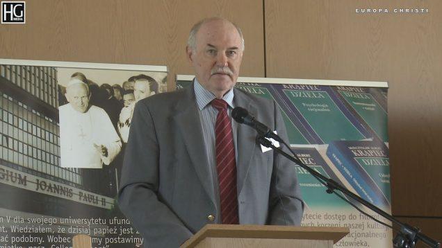 Prof. P Jaroszyński –  Filozofia wobec zderzeń cywilizacji – KUL 2018