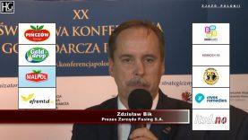 Zdzisław Bik na XX-ej  Światowej Konferencji Gospodarczej Polonii w Toruniu  – 2018