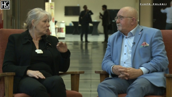 Zdzisław Wojtasik i Anita Wojtkowska na III Międzynarodowej Konferencji Gospodarczo-Naukowej