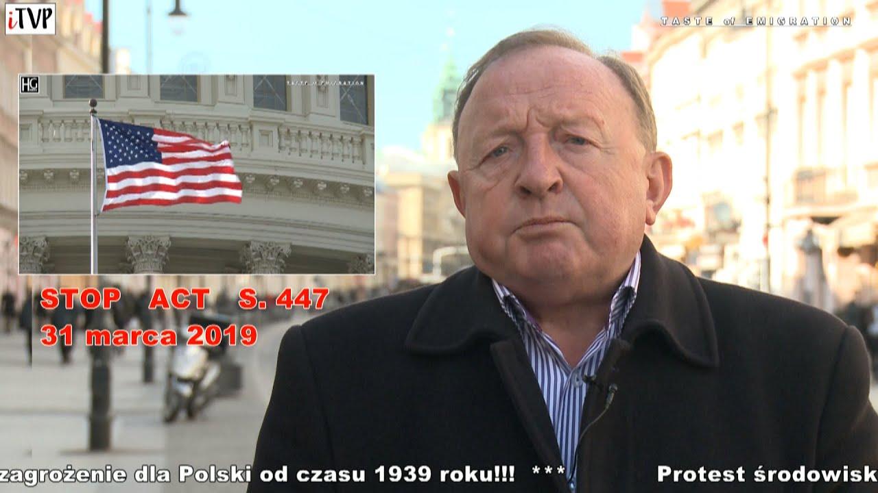 Stanisław Michalkiewicz zaprasza na protest przeciwko ustawie S. 447