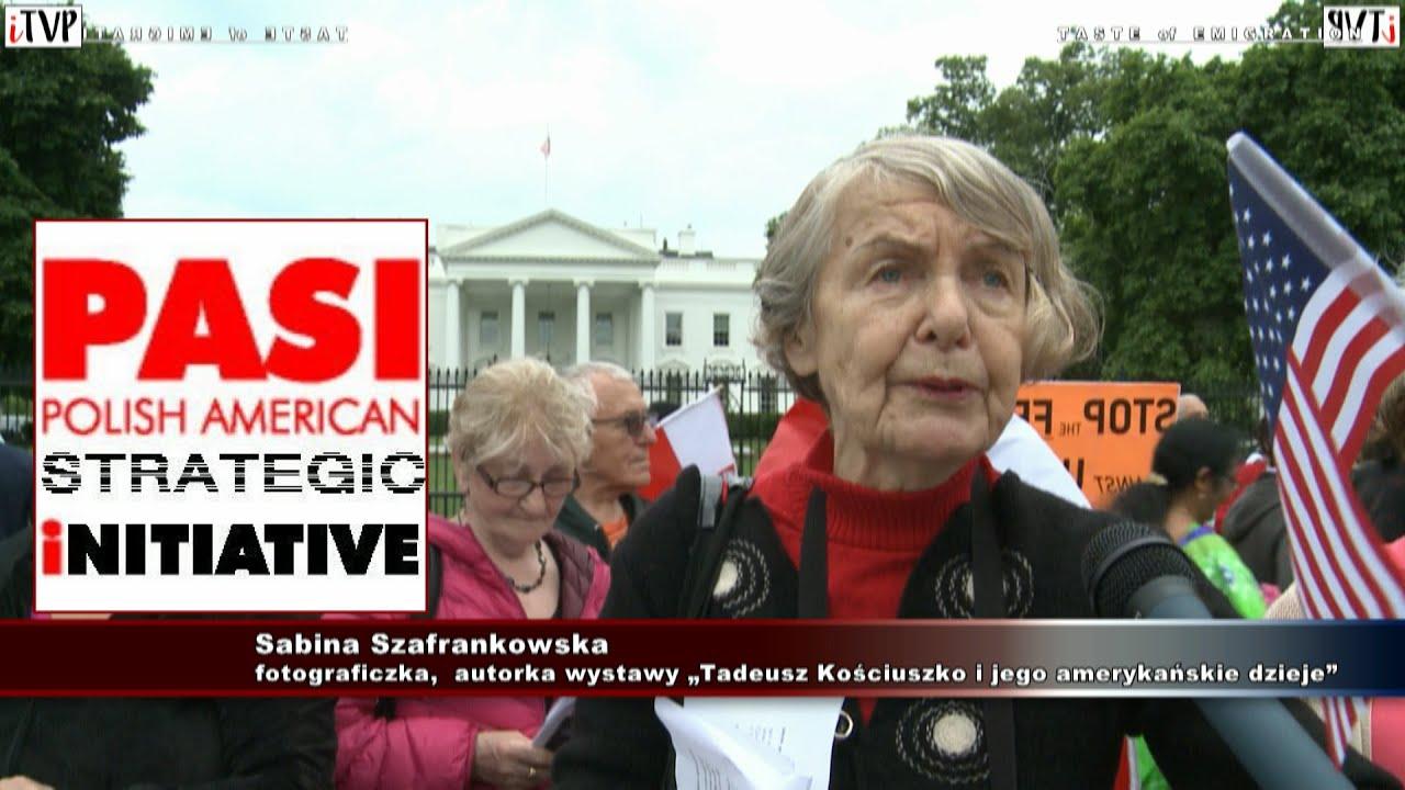 Bóg Honor Ojczyzna – Sabina Szafrankowska w Waszyngtonie.