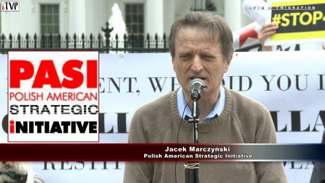 Jacek Marczyński – Washington Speech