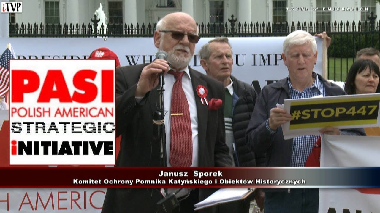 Janusz Sporek – Washington Speech