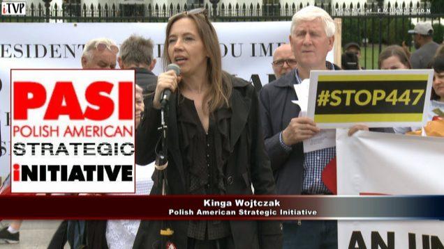 Kinga Witczak – Washington Speech