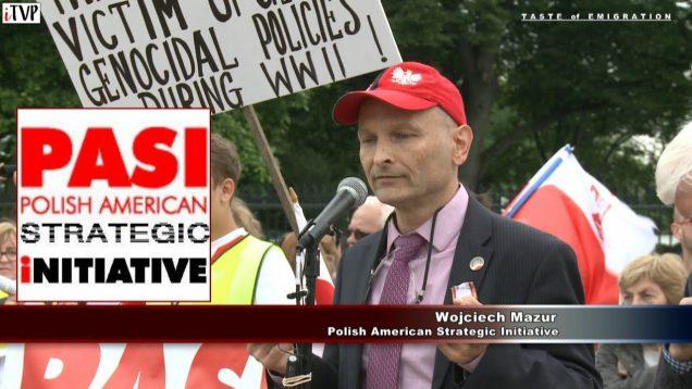 Wojciech Mazur – Washington Speech