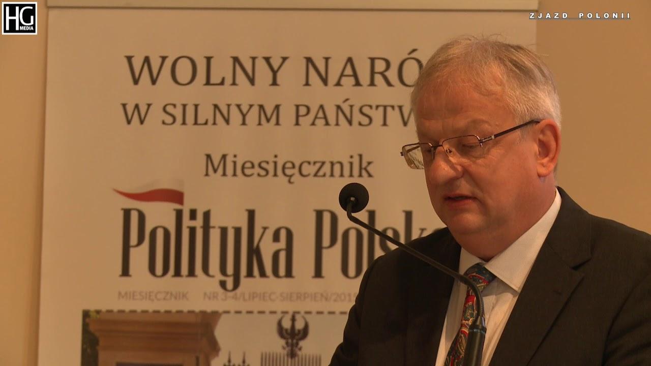 """Bogdan Kulas – """"Polityka rządów państwa polskiego wobec Polonii po 1989 roku i jej konsekwencje"""""""