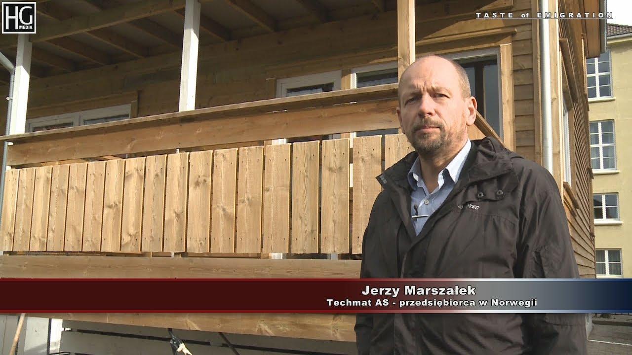 Budownictwo energooszczędne. Jurek Marszałek w Stavanger