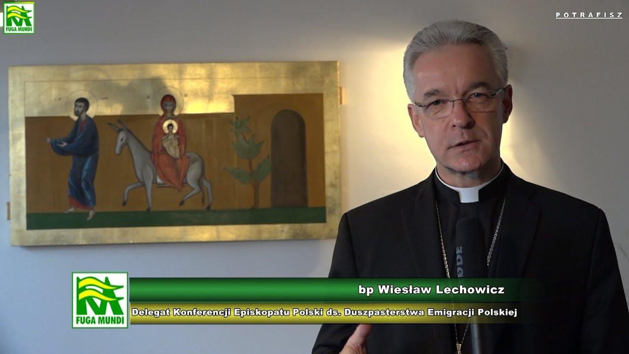 bp Wiesław Lechowicz – życzenia bożonarodzeniowe dla Polonii