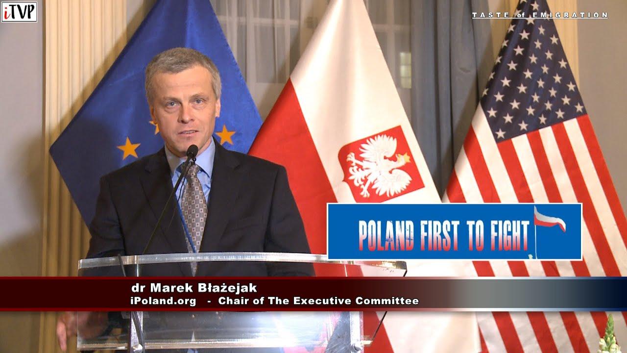 Poland First to Fight –  dr Marek Błażejak