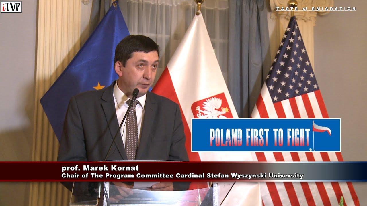 Poland First to Fight – prof. Marek Kornat