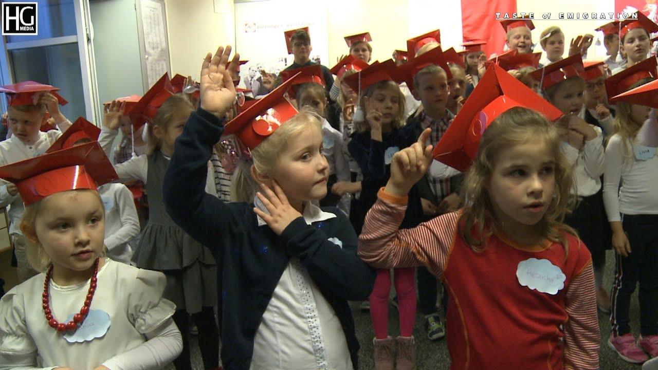 Ślubowanie w Polskiej Sobotniej Szkole  im. Jana Brzechwy w Drammen